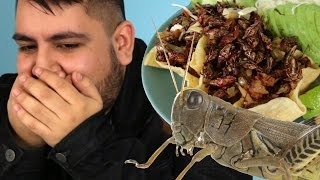 Latinos Try Grasshoppers