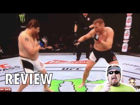 Roy Nelson vs Josh Barnett full fight REVIEW   UFC Fight ...