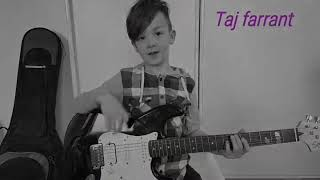 Tribute to prince purple rain by 8 year old TAJ FARRANT
