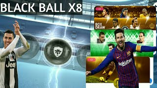 BLACK BALL X8 😍😍 LEGENDS PACK OPENING!! PES2019 MOBILE