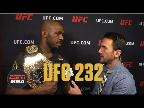 Jon Jones calls out Daniel Cormier after beating Alexander Gustafsson | UFC 232 | ESPN MMA