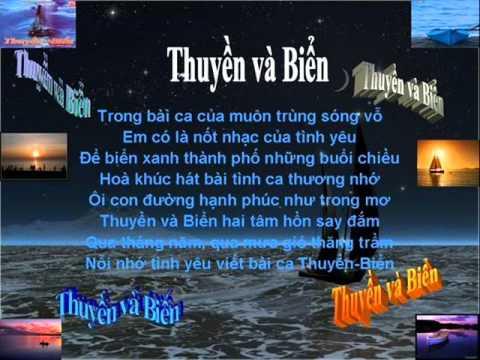 Thuyền và Biển  Thu Minh