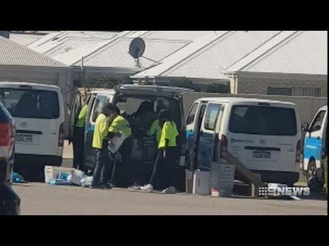 Courier Anger | 9 News Perth