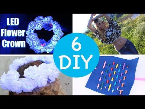 5 Minute Crafts To Do When You're BORED! 6 Quick And Easy DIY Ideas! Amazing DIYs & Craft Hacks!