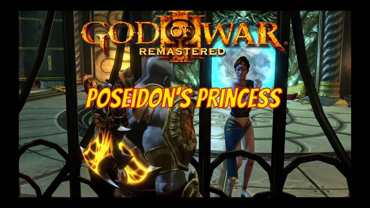 God of War® III Remastered - Poseidon's Princess - YouTube