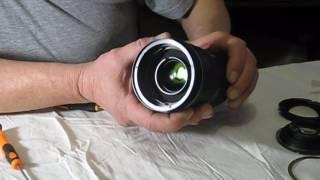 Nikon 24-70mm. Ремонт і змащування зума.