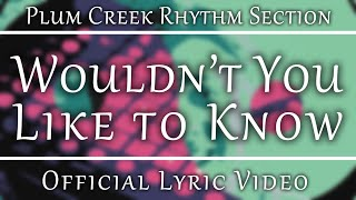 Plum Creek Rhythm Section - Wouldn