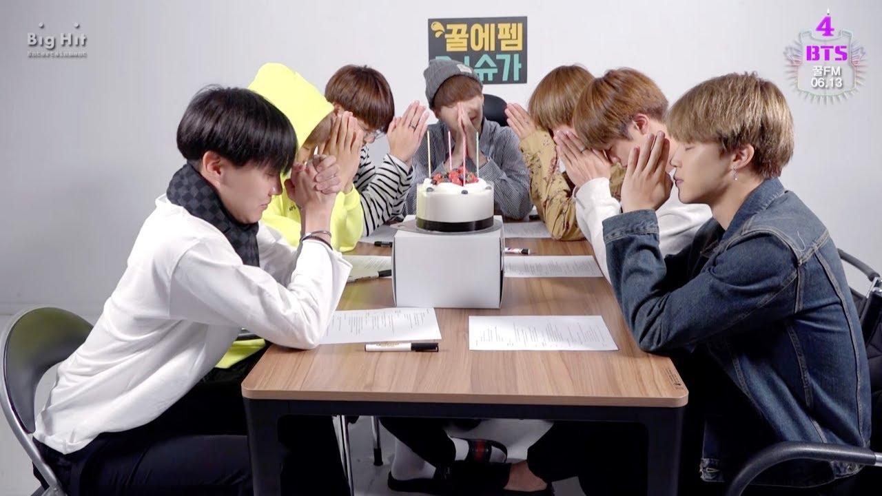 [FESTA 2017] BTS (방탄소년단) 꿀 FM 06 13 Happy BTS birthday!