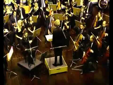 Concerto for Rababa & Orchestra  Marcel Khalife composition, QPO performance   FULL concert