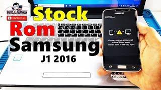 Stock Rom Samsung Galaxy J1 2016 SM-J120, J120H, J120M, J120f, J120A,  Atualizar, Recuperar