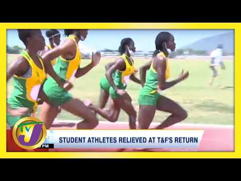 Student Athletes Relieved at Track & Field Return in Jamaica | TVJ Sports