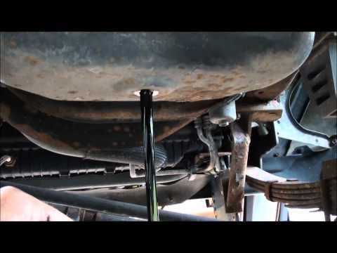 Ford 6.0 diesel oil change