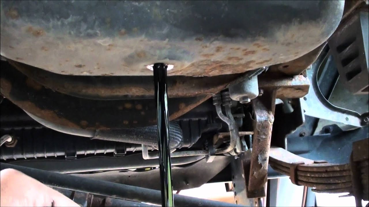 small resolution of ford 6 0 diesel oil change