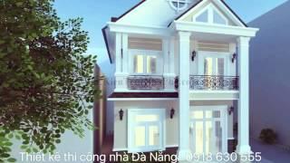 Mẫu thiết kế thi công nhà phố đẹp ở Đà Nẵng - CTY Nhà Việt Xanh