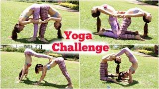 TWIN YOGA CHALLENGE | NinaAndRanda