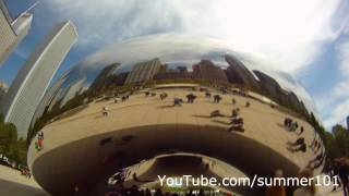 "Cloud Gate ""Chicago Bean"" Chicago Sculpture"