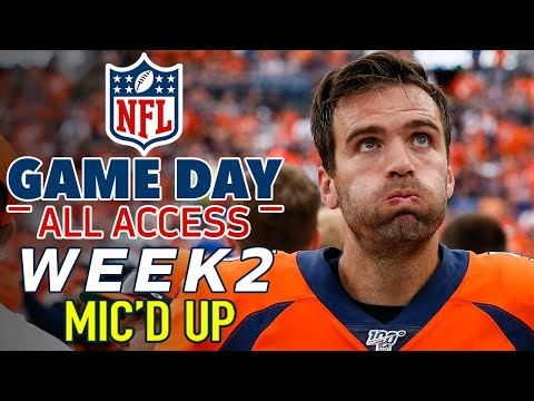NFL Sunday Week 2 Mic'd Up! | Game Day All Access