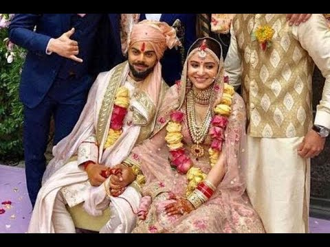 Anushka Sharma wedding dress - YouTube