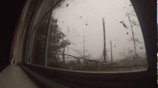 Albany man captures tornado on video.