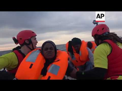 NGO helps rescue migrants in Mediterranean