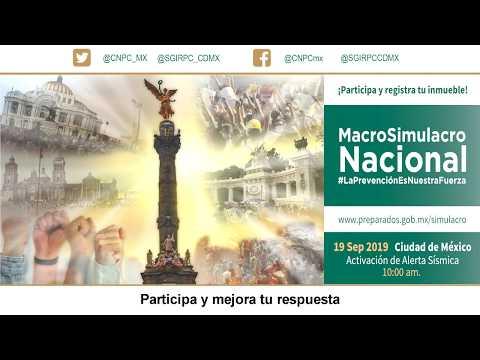 Macrosimulacro  Nacional, 2019