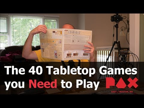 The 40 Tabletop Games you Must Play - PAX East 2018