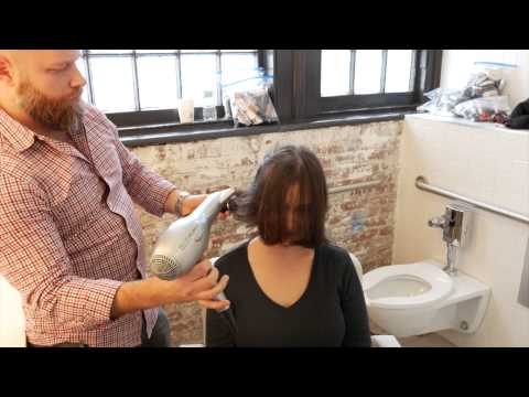 Medium Length Layer Haircut Makeover