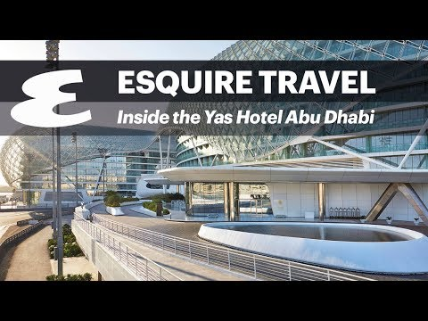 Inside the Yas Hotel in Abu Dhabi #EsquireDoesTravel