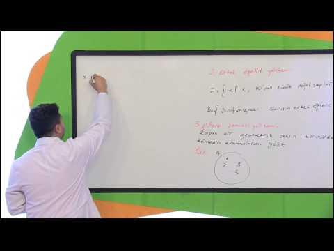Görüntülü Akademi 9. Sınıf Matematik Görüntülü Eğitim Seti (Küme Kavramı)