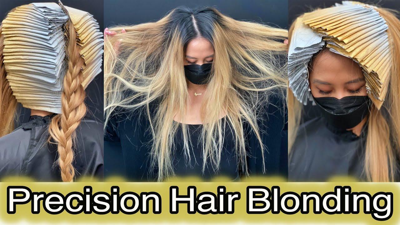 Precision Hair Blonding