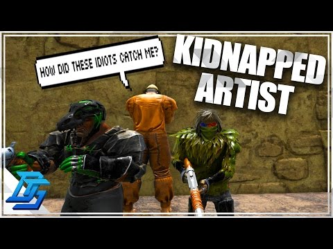 Ark:Survival Evolved -Season 11-Part 13- Kidnapping The Artist (PvP-Thieves Island)