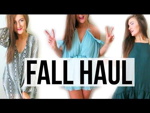 HUGE Fall Clothing Haul    Sarah Belle