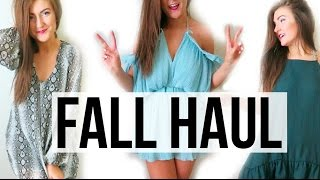 HUGE Fall Clothing Haul || Sarah Belle