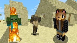 видео: Майнкрафт для новичков - Выживание Светы в Пустынной Деревне!