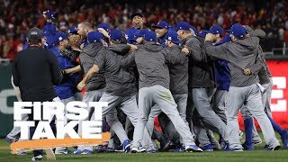 First Take reacts to Cubs winning NLDS series vs. Nationals | First Take | ESPN