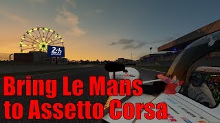 Essentials for Racing Le Mans 2019 in Assetto Corsa