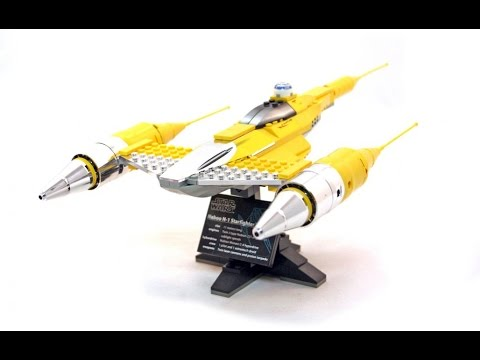 LEGO Star Wars Review: 10026 UCS Naboo N-1 Starfighter - YouTube