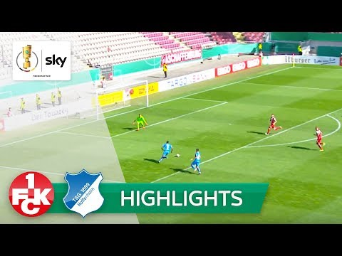 1. FC Kaiserslautern - TSG 1899 Hoffenheim 1:6   Highlights DFB-Pokal 2018/19 - 1. Runde