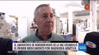 Hecho en Córdoba: Logran reproducir proteínas con ingeniería genética