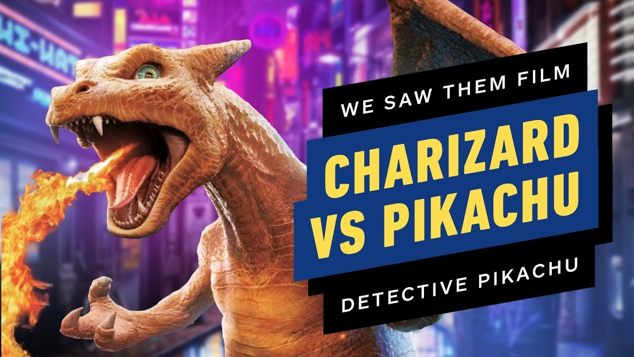 I Saw Charizard Battle On The Set Of Pokemon Detective Pikachu