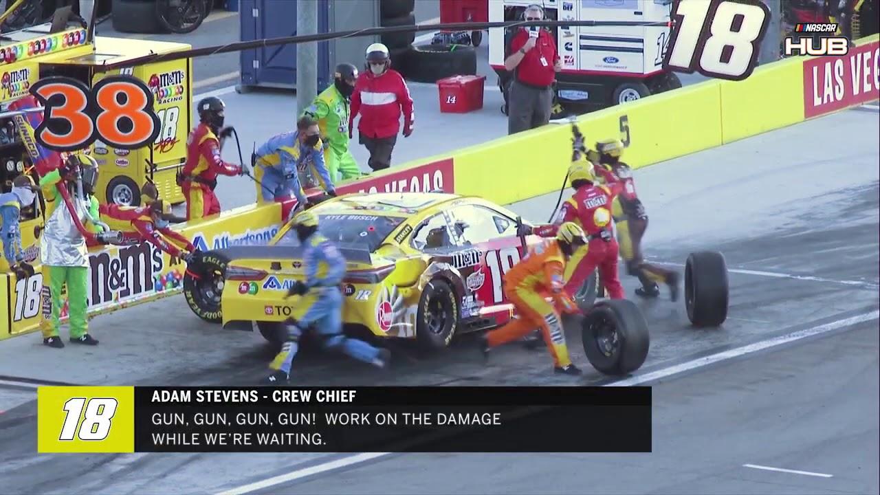 NASCAR RACE HUB'S Radioactive: Kurt Busch gets it done at his home track | Las Vegas Motor Speedway