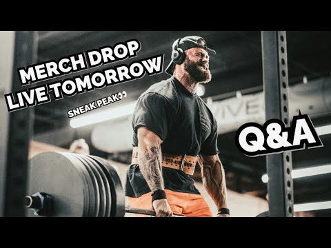 Download INTENSE DEADLIFT SESSION   ON THE GO Q&A   MERCH DROP