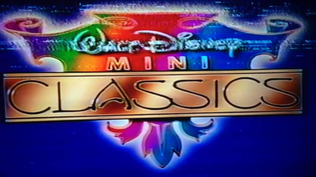 walt disney mini classics logo from 1987 youtube rh youtube com Walt Disney Mini Classics Peter and the Wolf Disney VHS 1993