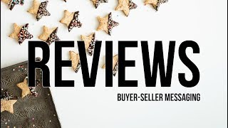 How to get Reviews on Amazon | Seller Central Buyer-Seller Messaging System - Eddie from Kibly