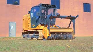 Video still for Pumpkin vs Tree Mulcher