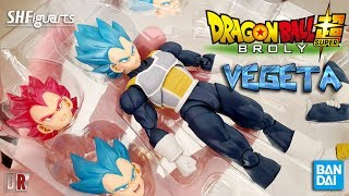 Bandai VEGETA SH Figuarts Dragon Ball Super Review BR / DiegoHDM