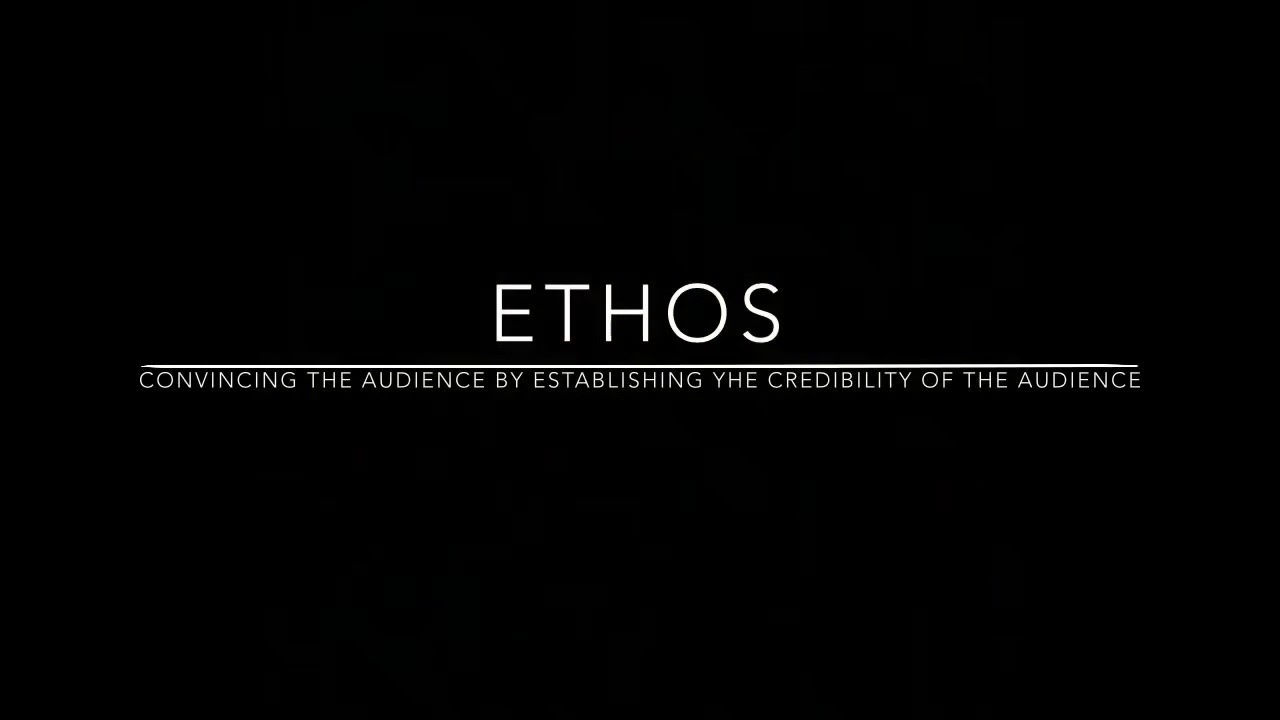 Commercials that show ethos, pathos and logos