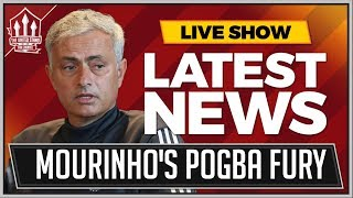 MOURINHO Slams POGBA Lies! MAN UTD News