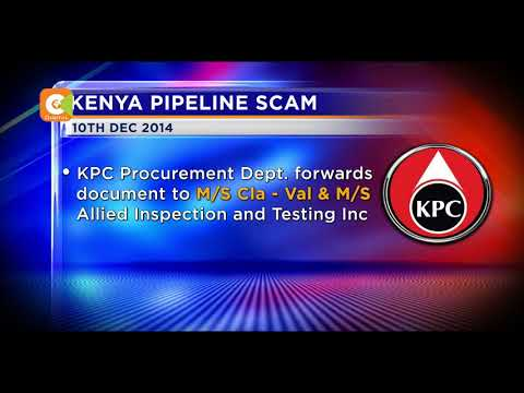 EACC digs into Kenya pipeline scam