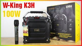 Review Loa Karaoke Di Động W-King K3H Công Suất 100W [Hieuhien.vn]